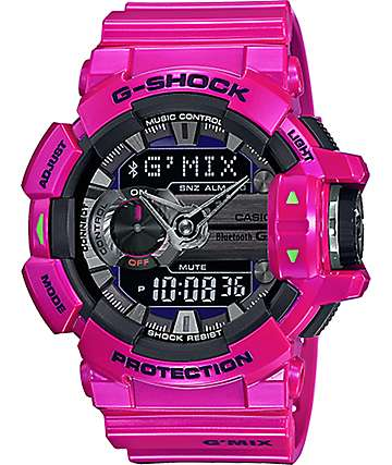 G-Shock G'MIX GBA400-4C Bluetooth Watch