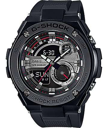 G-Shock G Steel GST-210B-1A Black Watch