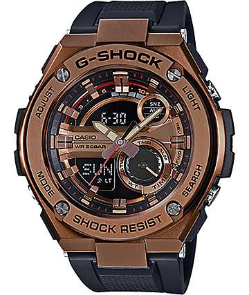 G-Shock G Steel GST-210B-4A Rose Gold Watch