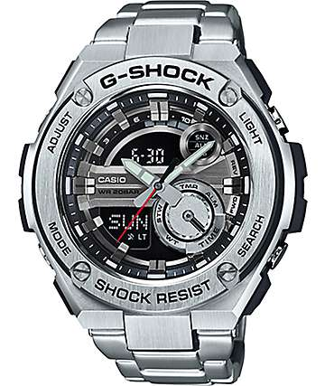 G-Shock G-Steel GST210D-1A Silver Watch