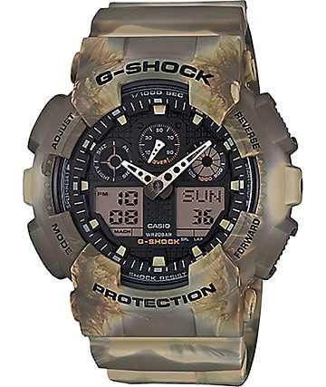 G-Shock GA-100MM-5A Marble Desert reloj