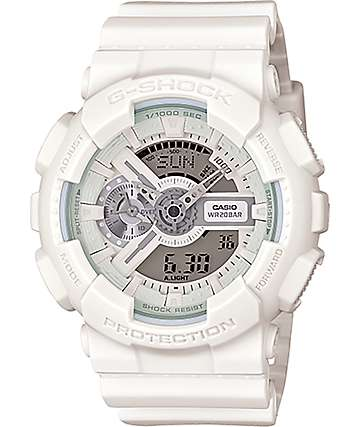 G-Shock GA-110BC-7A White Series Digital Chronograph Watch