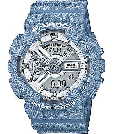 G-Shock GA-110DC-2A7 Denim Digital Chronograph Watch