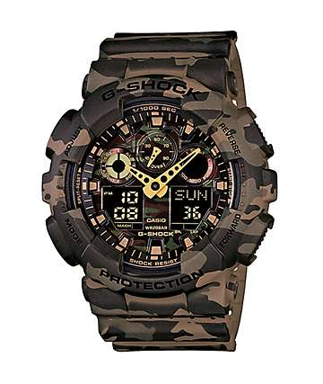 G-Shock GA100CM-5A Digital Chronograph Watch