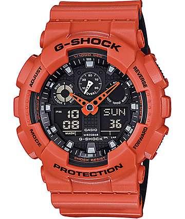 G-Shock GA100L-4A Military Coral Layered Watch