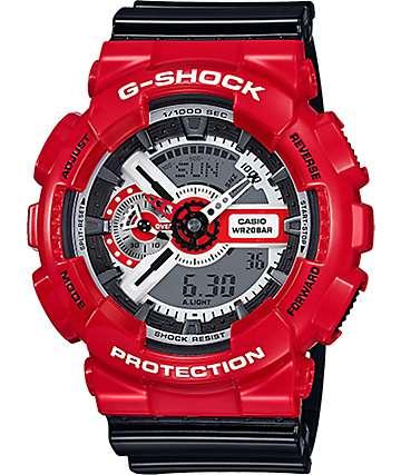 G-Shock GA110RD-4A reloj en rojo