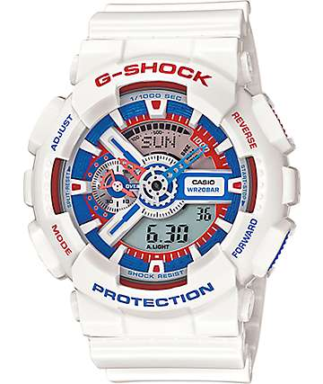 G-Shock GA110TR-7A Tri-Color Watch