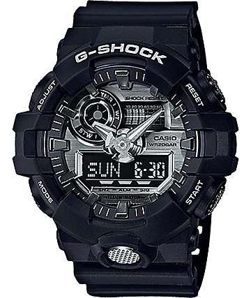 G-Shock GA710-1A Garish reloj en negro y blanco