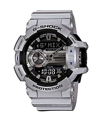 G-Shock GBA400-8B Bluetooth Watch