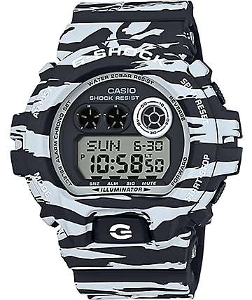 G-Shock GDX6900BW-1 Tiger Camo Digital Watch