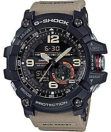 G-Shock GG1000-1A5 Mudmaster Khaki & Black Watch