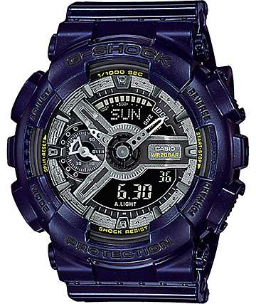 G-Shock GMA-S110MC-2A Dark Metallic Blue Watch