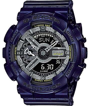 G-Shock GMA-S110MC-2A reloj azul metálico oscuro