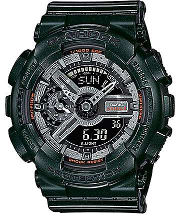 G-Shock GMA-S110MC-3A Dark Metallic Green Watch