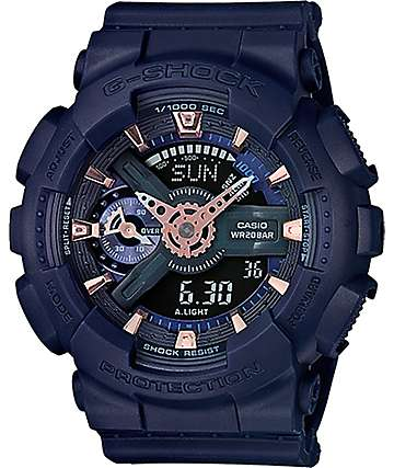 G-Shock GMAS 110CM-2A Military Blue Watch