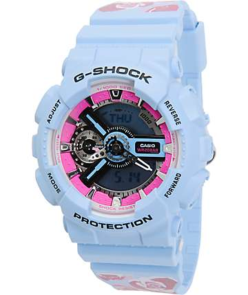G-Shock GMAS110F-2A Flower Watch