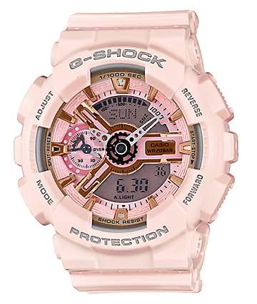 G-Shock GMAS110MP-4A1 Light Pink & Rose Gold Watch