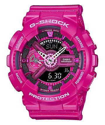 G-Shock GMAS110MP-4A3 Magenta Watch