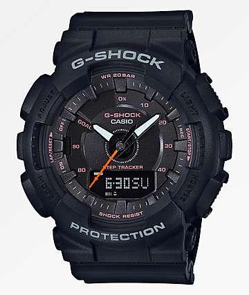 G-Shock GMAS130 All Black Watch