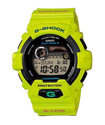 G-Shock GWX8900 G-Lide Tide Digital Watch