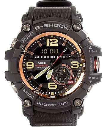 G-Shock Mudmaster reloj en negro y rosa