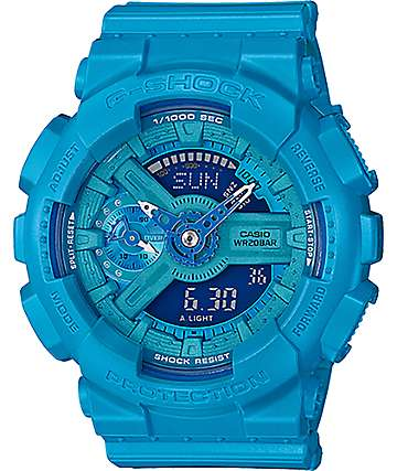 G-Shock Vivid Color GMAS110VC-2A reloj digital en azul