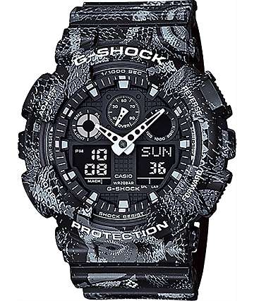 G-Shock x Marcelo Burlon GA100MRB-1A Black Watch