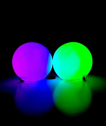 GLOFX LED 9-Mode Poi Balls