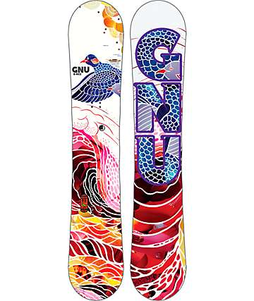 GNU B-Nice Flight 139cm Womens Snowboard