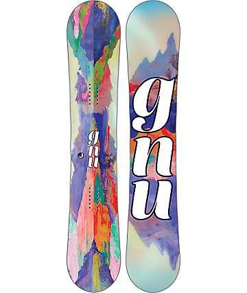 GNU B-Nice Reflections 148cm tabla de snowboard para mujer
