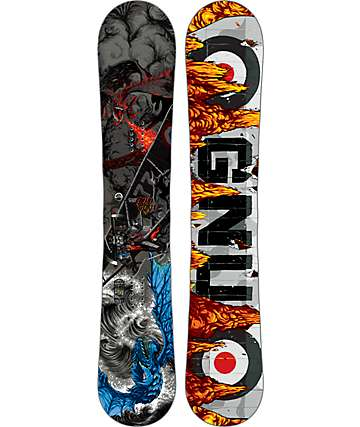 GNU Billy Goat 162cm Wide Snowboard
