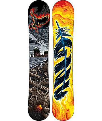 GNU Billy Goat C3 BTX 162cm Wide Snowboard