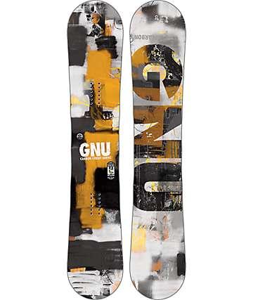 GNU Carbon Credit 153cm tabla de snowboard
