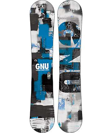 GNU Carbon Credit 156cm Wide Snowboard