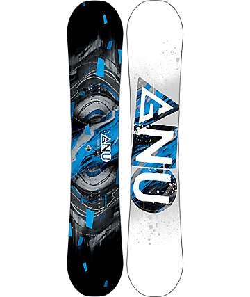 GNU Carbon Credit Asymetrical BTX 156cm Wide Snowboard