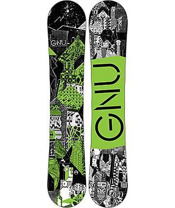 GNU Carbon Credit BTX 150cm Snowboard
