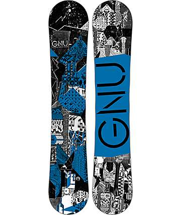 GNU Carbon Credit BTX 159cm tabla de snowboard ancha