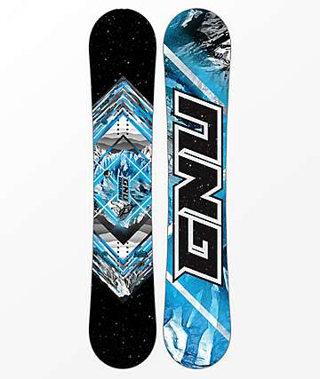 GNU Gnuru Asym Snowboard