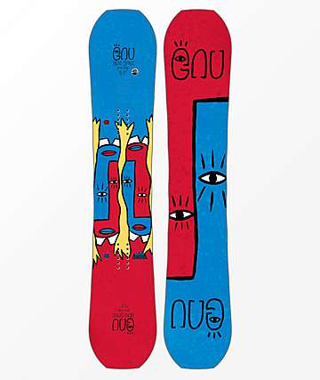 GNU Head Space Asym Snowboard