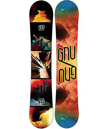 GNU Metal GNUru EC2 BTX 158cm tabla de snowboard