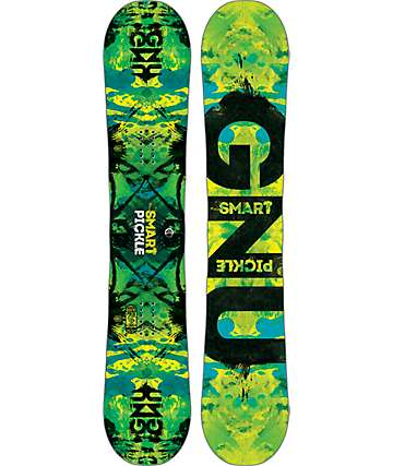 GNU Smart Pickle 153cm tabla de snowboard