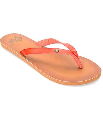 Gigi Breeze Red Sandals