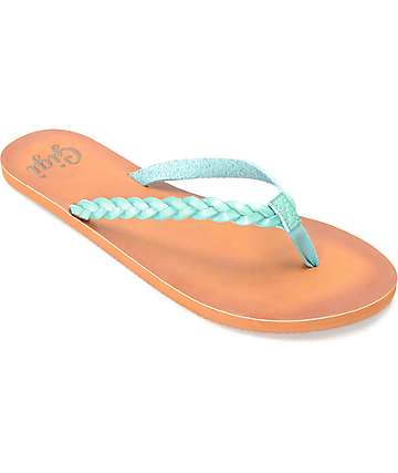 Gigi Butterfly Blue Sandals