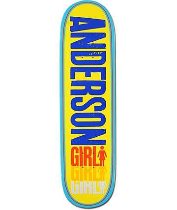 """Girl Anderson Triple 8.5"""" Skateboard Deck"""