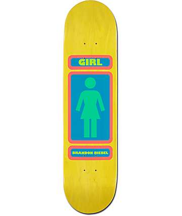 "Girl Biebel 93 Til 7.87"" Skateboard Deck"