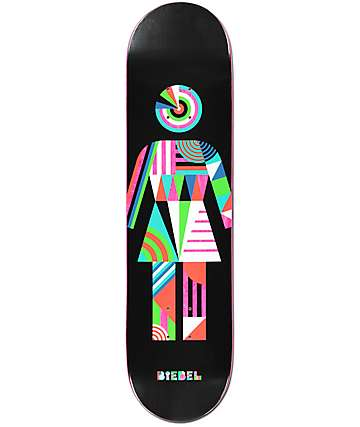 "Girl Biebel Constructivist 8.0"" tabla de skate"