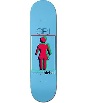 "Girl Biebel Modern OG 8.0"" Skateboard Deck"