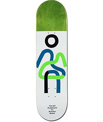 "Girl Biebel Twisted OG 8.0"" Skateboard Deck"