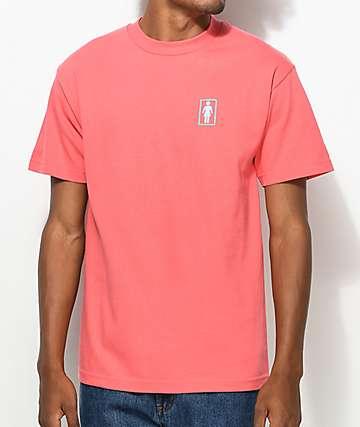Girl Duo OG camiseta en color coral