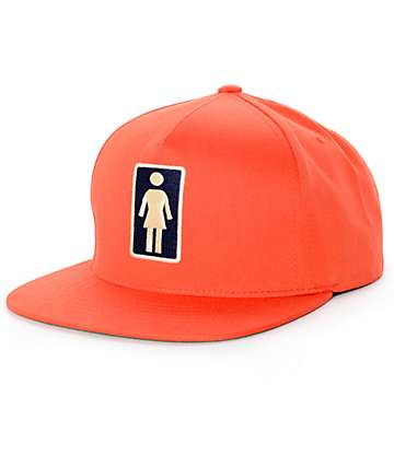 Girl Everyday OG Orange Snapback Hat